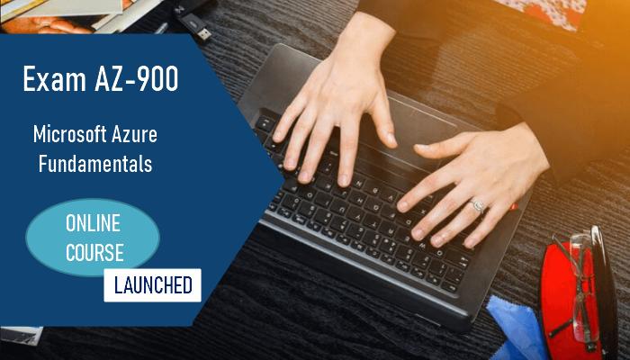 AZ-900 Online Course Launched