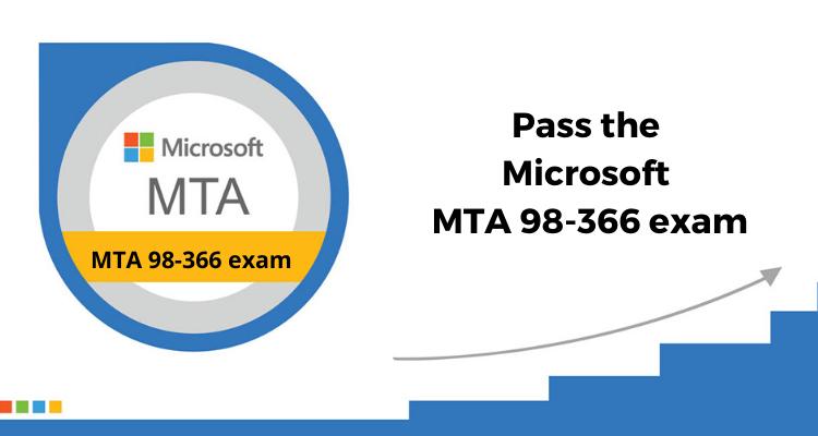 How hard do I need to study to pass the Microsoft MTA 98-366 exam?