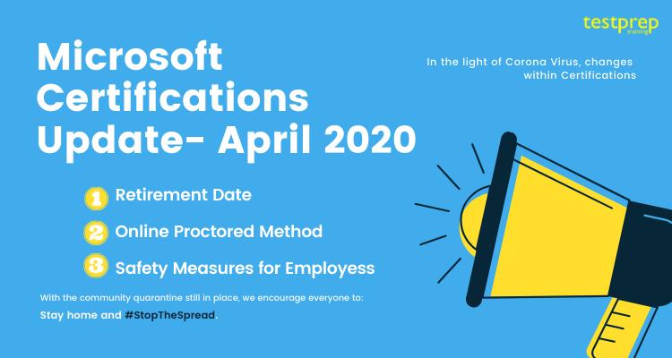 Microsoft Certifications Update- April 2020