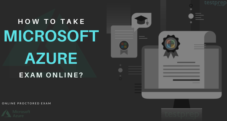how to take Microsoft azure exam online