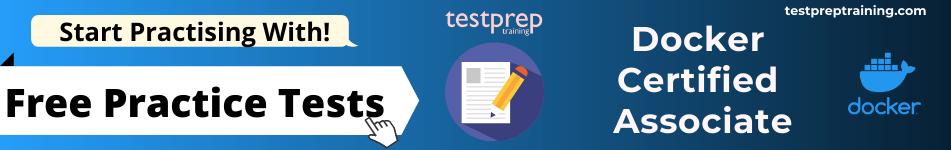 Docker Certified Associate Exam free practice tests