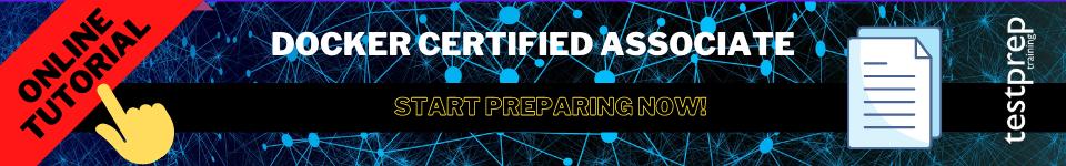 Docker Certified Associate online tutorial