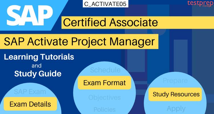 C_ACTIVATE05 -SAP Activate Project Manager tutorials