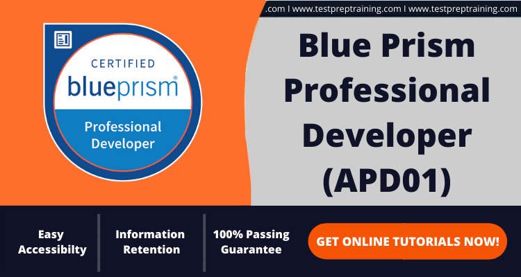Blue Prism Professional Developer (APD01) Exam