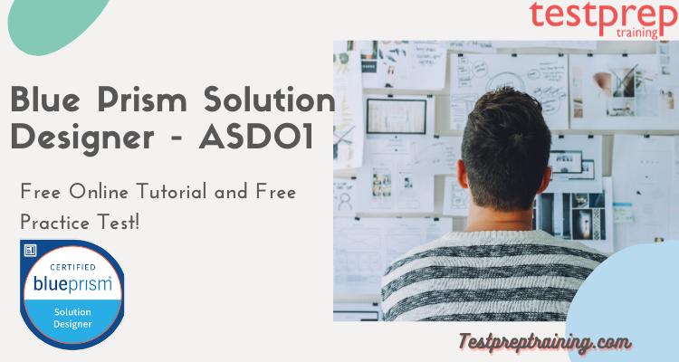 Blue Prism Solution Designer (ASD01)