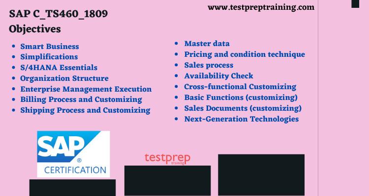 C_TS460_1809 - SAP Certified Application Associate course outline