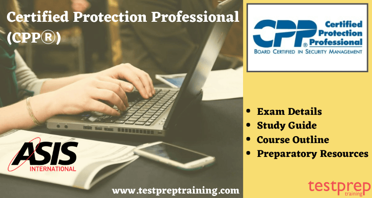 Certified Protection Professional (CPPⓇ)