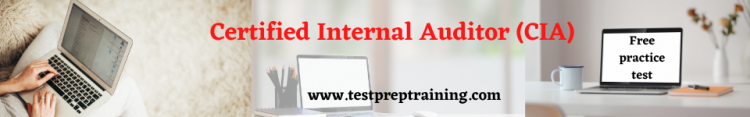Certified Internal Auditor (CIA) free practice test