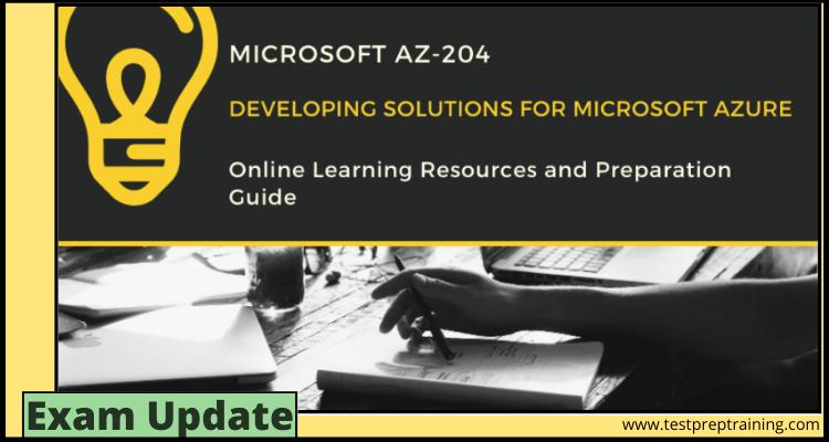 Exam AZ-204 Online Tutorial