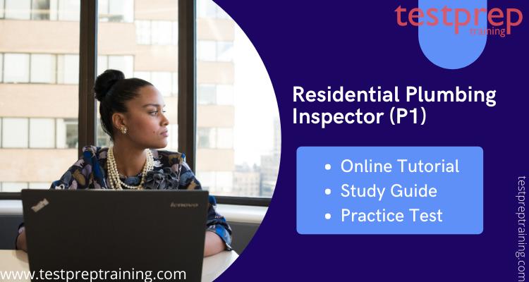 Residential Plumbing Inspector (P1) online tutorial